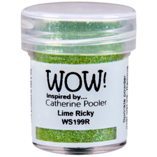 WOW Embossing Pulver - Catherine Pooler / Lime Rickey